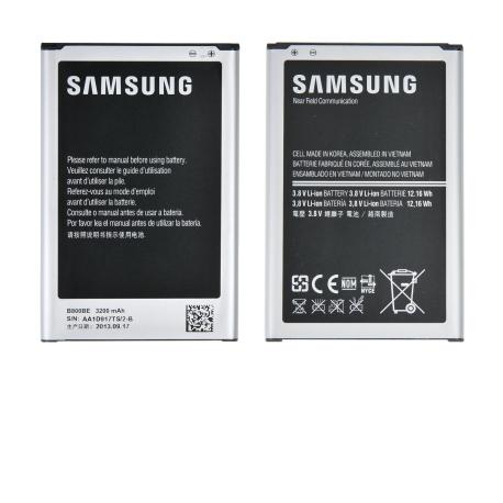 Bateria EB-B800BE Original para Samsung Galaxy Note 3 N9005, N9000 de 3200mAh