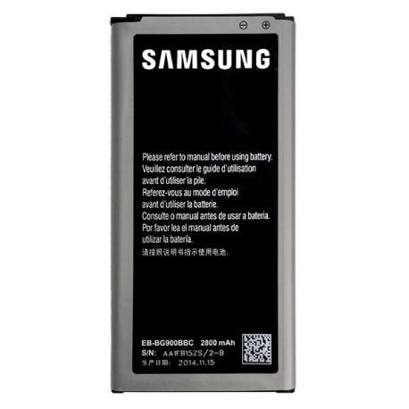 Bateria EB-BG900BBE para Samsung SM-G900F Galaxy S5, SM-G901F Galaxy S5 Plus LTE-A de 2800mAh