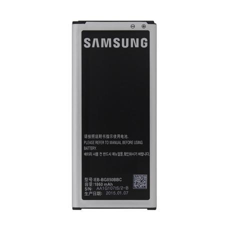 Bateria original para Samsung Galaxy Alpha SM-G850F / EB-BG850BBE 1860mAh