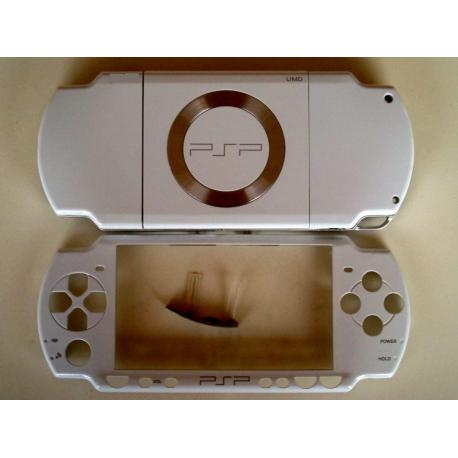 Carcasa completa PSP 2000 blanco
