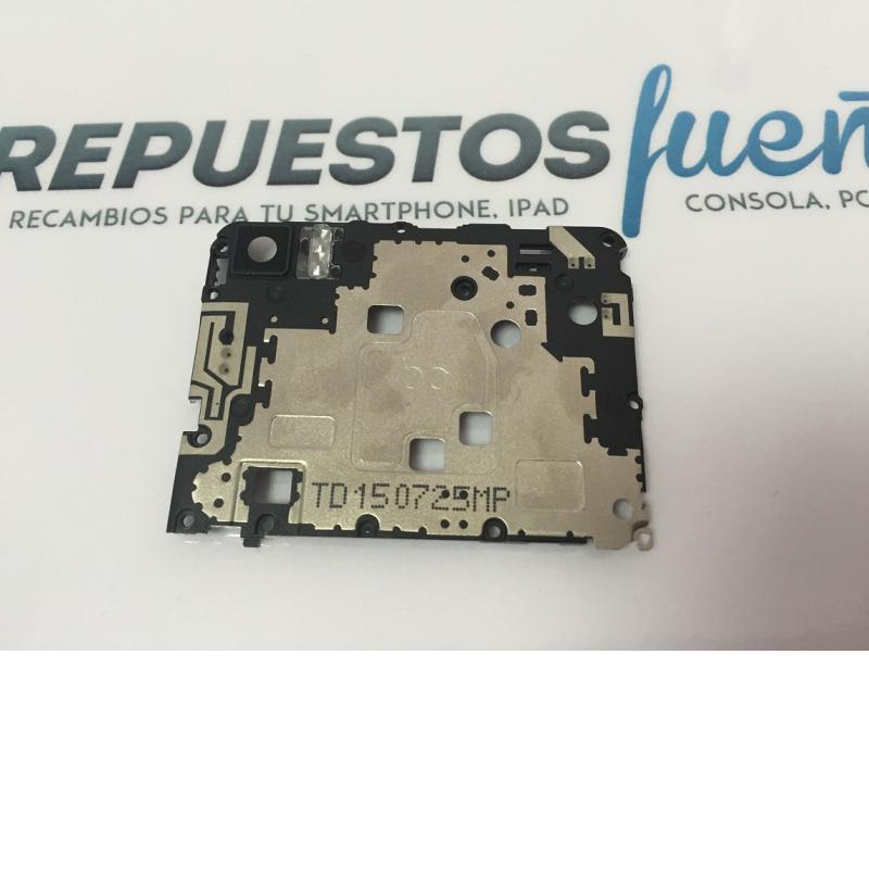 Carcasa Intermedia con Lente de Camara BQ Aquaris M5 / Remanufacturado