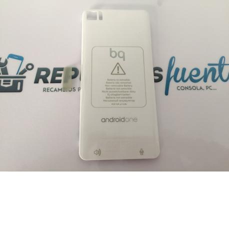 Carcasa Tapa Trasera de Bateria para BQ Aquaris M4.5 , A4.5 - Blanca / Recuperada