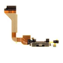 Flex Conector de Carga y Microfono para iPhone 4 - Negra