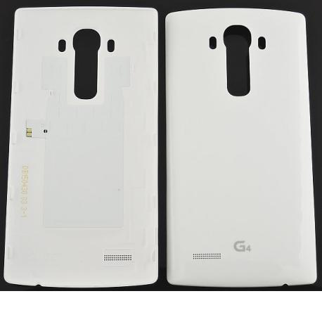 Carcasa Tapa Trasera de Bateria Original + NFC para LG G4 H815 - Blanca