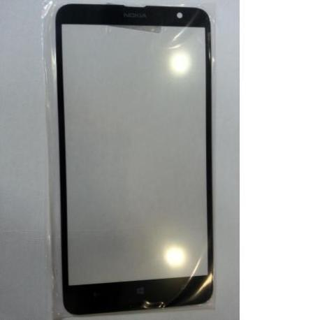 Repuesto Pantalla Cristal para Nokia Lumia 1320 - Negro