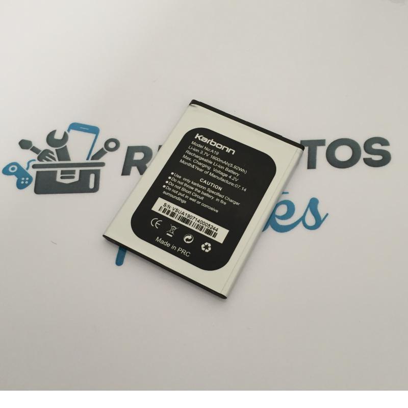 Bateria Original para Karbonn A19 - Desmontaje