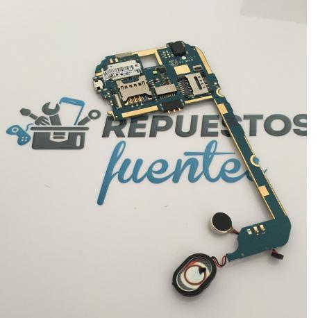Placa Base, Vibrador y Altavoz Buzzer Original para Karbonn A19 - Desmontaje