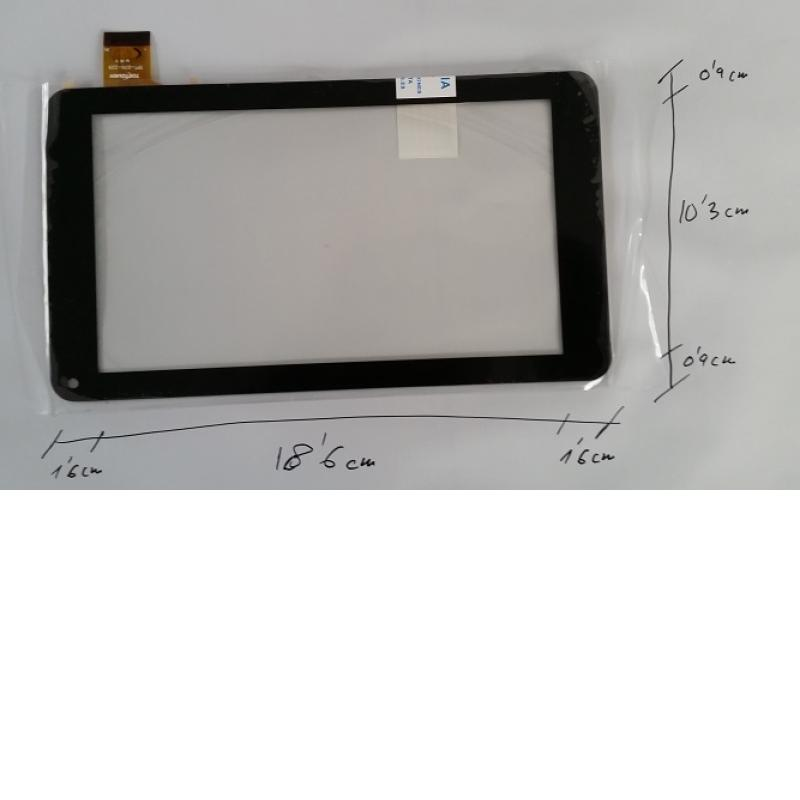 Repuesto Pantalla Táctil Tablet 7 Pulgadas Hyundai Afrodita AD-C-702112-FPC - Negra