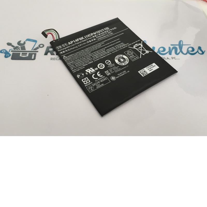 Bateria Original para Tablet Acer Iconia One 8 B1-810 / AP14F8K / 4550mah - Recuperada