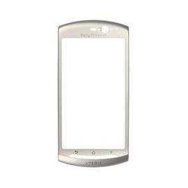 Carcasa Sony Ericsson Xperia Neo Frontal silver cromado