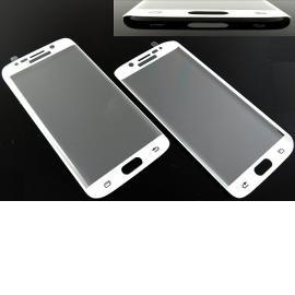 Protector de Pantalla Cristal Templado Samsung S6 Edge G925 - Blanco
