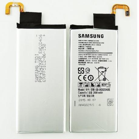 Bateria Original para Samsung Galaxy S6 Edge SM-G925 / EB-BG925ABE