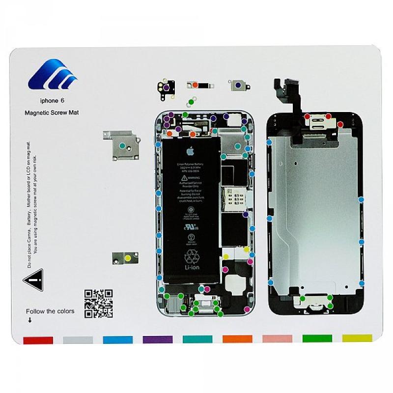 Alfombra Manta Magnetica para Reparaciones iphone 6