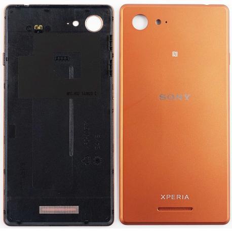 Carcasa Tapa Trasera de Bateria para Sony Xperia E3 D2203 D2206 D2243 - Cobre