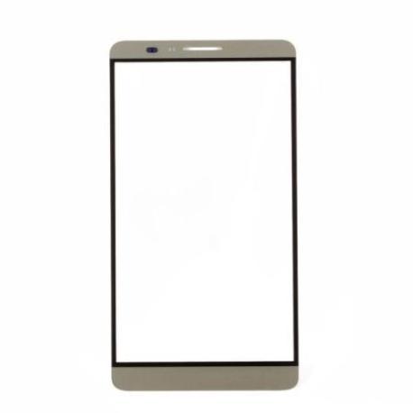 Cristal Ventana Gorilla Glass Blanco Huawei Ascend Mate 7 - Oro
