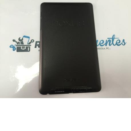 Tapa Trasera Negra Original Asus Nexus 7 ME370T - Recuperada