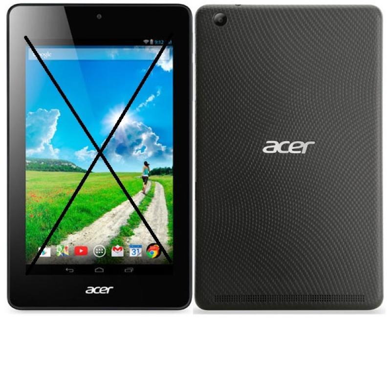 Repuesto de Tablet Completa para Reparar - Acer iconia B1-730HD - Negra