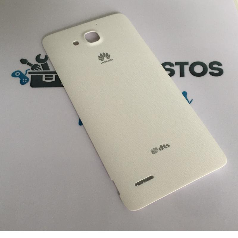 Carcasa Tapa Trasera de Bateria para Huawei Honor 3X PRO - Blanca