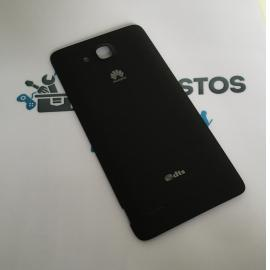Carcasa Tapa Trasera de Bateria para Huawei Honor 3X PRO - Negra