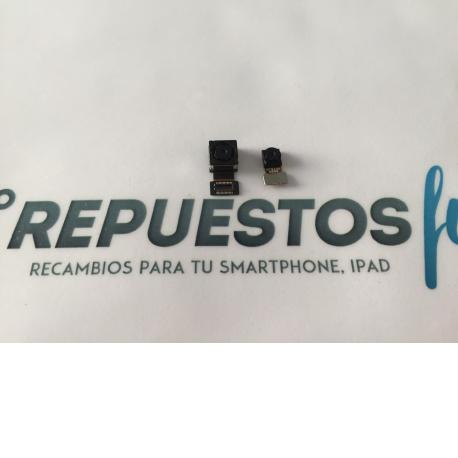 Juego Camara Trasera y Frontal Original Vodafone Smart 4 Max  - Recuperada
