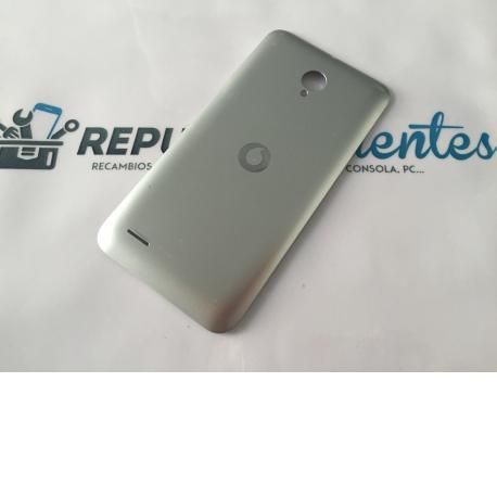 Tapa Trasera Original Para Vodafone Smart Prime 6 895N Plata - Recuperada
