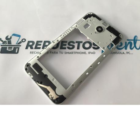 Carcasa Intermedia Con Lente De camara Original Para Vodafone Smart Prime 6 895N - Recuperada