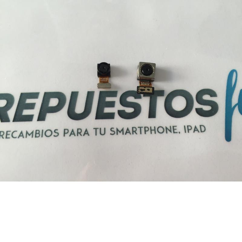 Juego de Camara Trasera y Frontal Vodafone Smart Prime 6 895N - Recuperada
