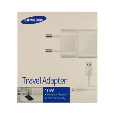 Cargador Red Micro USB Original Samsung ETA-U90EW+ECB-DU4AWE - Blanco / En Blister