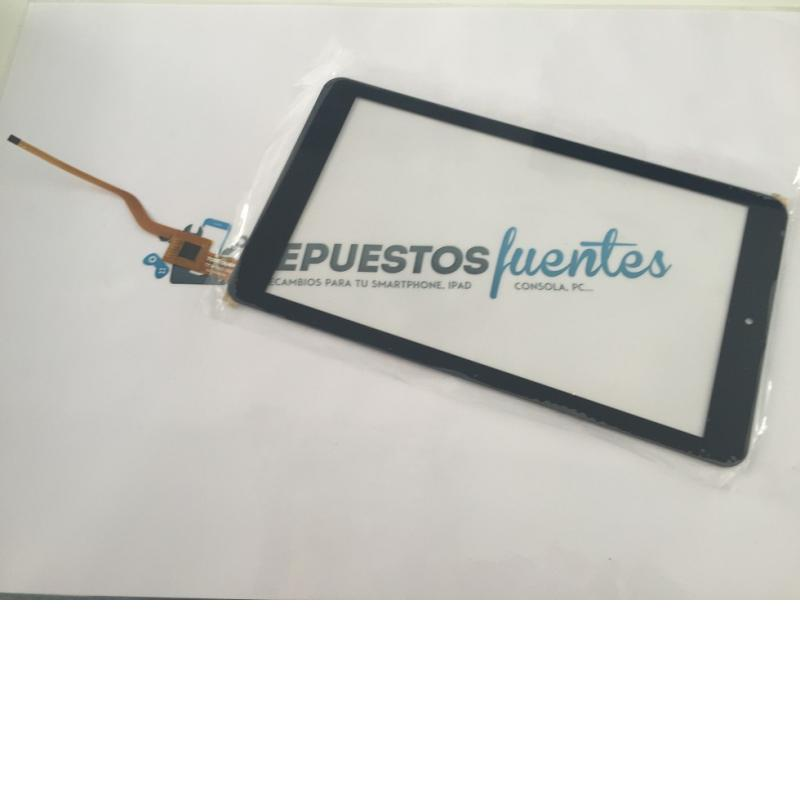 Repuesto Pantalla tactil Tablet TPT-090-363, HG258PDRA - Negra