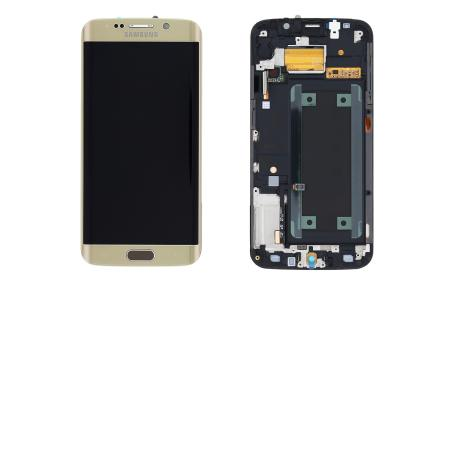 Pantalla LCD + Tactil Original Samsung Galaxy S6 Edge SM-G925F Dorada Oro LIQUIDACION