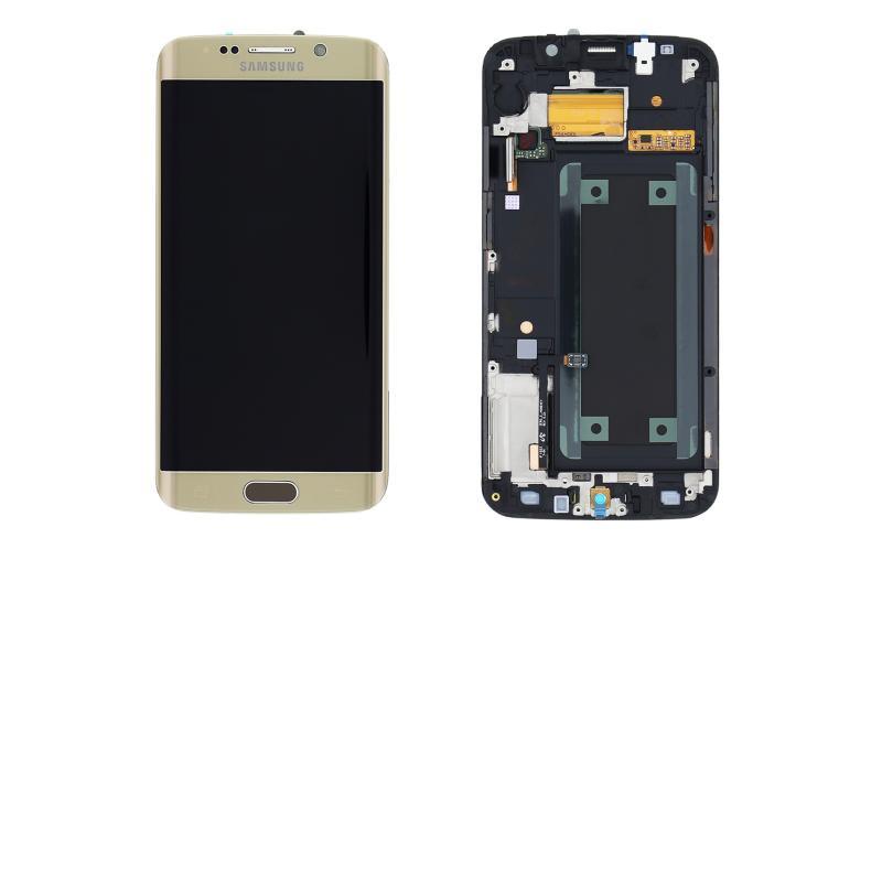 Pantalla LCD + Tactil Original Samsung Galaxy S6 Edge SM-G925F Dorada Oro