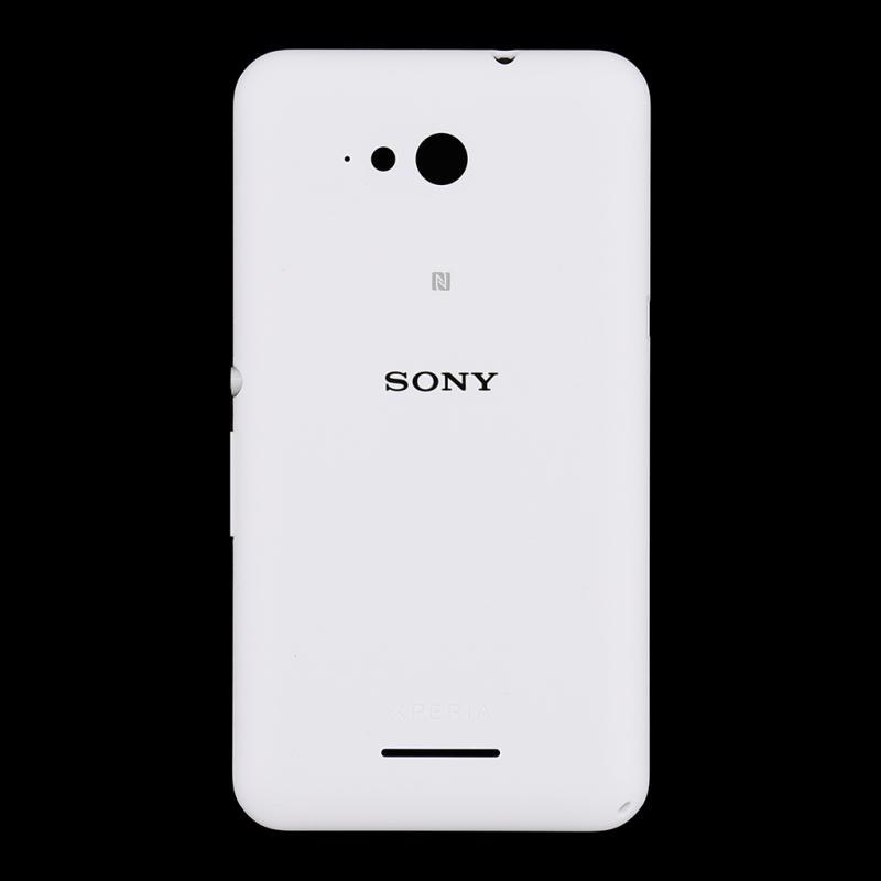 Carcasa Tapa Trasera de Bateria Original para Sony E2005 Xperia E4g con NFC / Blanca