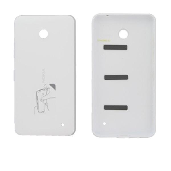 Carcasa tapa bateria Nokia Lumia 630 635 636 blanca
