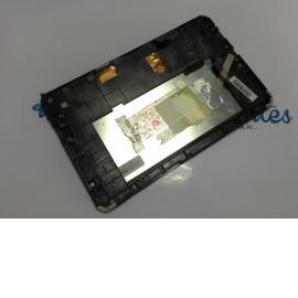 Pantalla LCD + Tactil con Marco para BQ Maxwell Plus / Recuperada