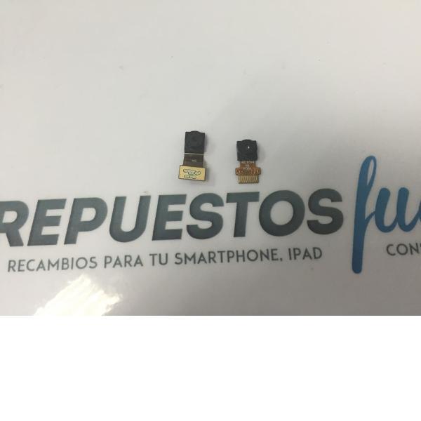 Juego de Camara Trasera y Frontal Tablet Lenovo A8-50 A5500  - Recuperada
