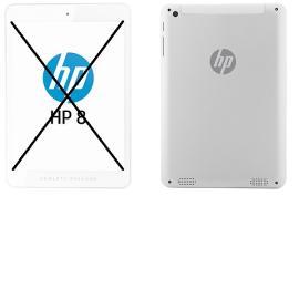 Repuesto de Tablet Completa para Reparar - HP 8 1401 - Blanca
