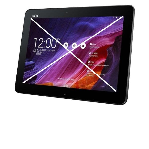 Repuesto de Tablet Completa para Reparar - Asus Transformer Pad TF103 - Negra