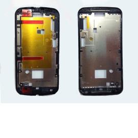 Repuesto Carcasa Frontal para Motorola Moto G2 XT1603 XT1068 - Negra