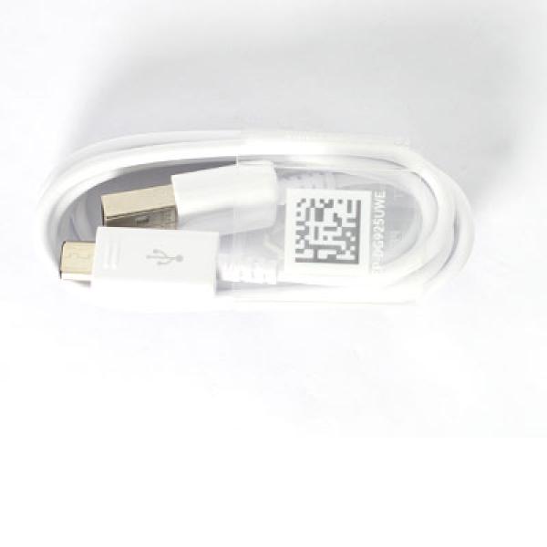 Cable Datos y Carga Micro USB para Smartphone / Movil Samsung  - Blanco