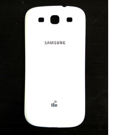 Carcasa Tapa Trasera de Bateria Original para Samsung i9300 LTE - Blanca