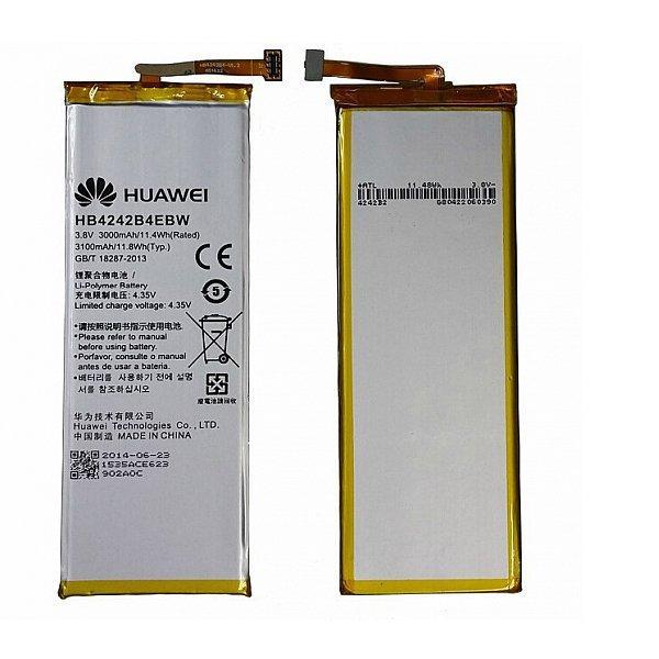 Bateria HB4242B4EBW Original para Huawei Honor 6, Honor 4X, Shot X de 3000mAh