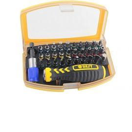 Estuche con Destornillador y Juego de 32 Piezas de Precisión - BEST-2166A ( En Blister)