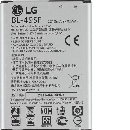 Bateria BL-49SF Original para LG G4s H735, H515