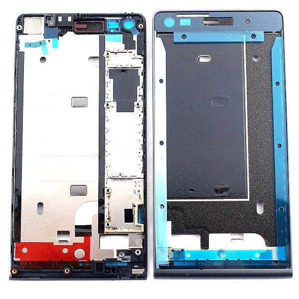 Carcasa Frontal Original para Huawei Ascend G6 Orange Gova - Negra