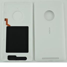 Carcasa Tapa Trasera con NFC Original para Nokia Lumia 830 - blanca