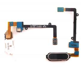 Flex Boton Original para Samsung Galaxy Note 4 Edge N915F N915 - Negro