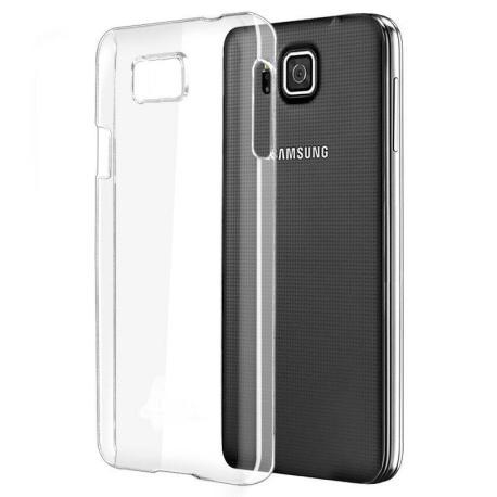 Funda de Gel para Samsung Galaxy Alpha SM-G850F - Transparente