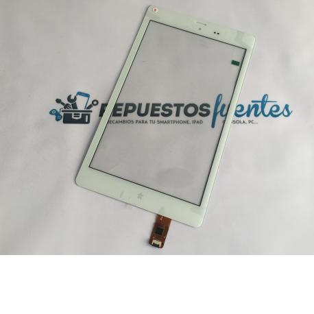 Pantalla Tactil para Tablet de 8 Pulgadas HYUNDAI Crystal - Blanca