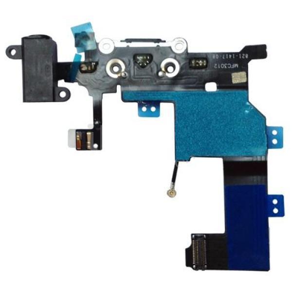 Flex Conector de Carga, Jack de Audio y Microfono para iPhone 5 - Blanco