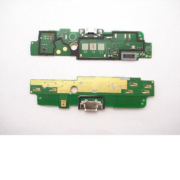Modulo Conector de Carga Micro USB, Microfono y Antena Original para Nokia Lumia 1320